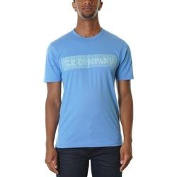 Abbigliamento Uomo T-shirt maniche corte Cp Company 08CMTS151A000444H-818 - RIVIERA Blu