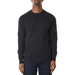 Abbigliamento Uomo Felpe Cp Company 08CMKN260A005403G-888 - TOTAL ECLIPSE Blu