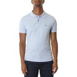 Abbigliamento Uomo Polo maniche corte Cp Company 08CMPL079A005527G-817 - HALOGEN BLUE Blu