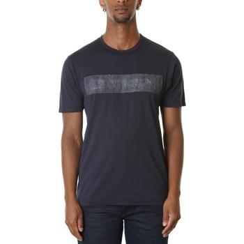 Abbigliamento Uomo T-shirt maniche corte Cp Company 08CMTS151A000444H-888 - TOTAL ECLIPSE Blu