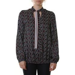 Abbigliamento Donna Top / Blusa Manila Grace C073VS MD560-BLU NAVY Blu