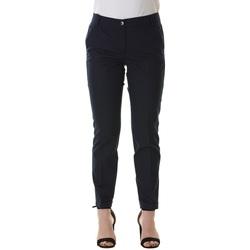 Abbigliamento Donna Chino Emme Marella 51310305000 003-BLU NOTTE Blu