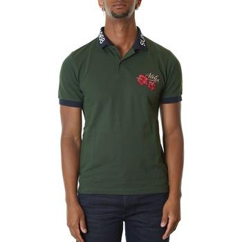 Abbigliamento Uomo T-shirt & Polo Sun68 A30125-37 VERDE SCURO Verde