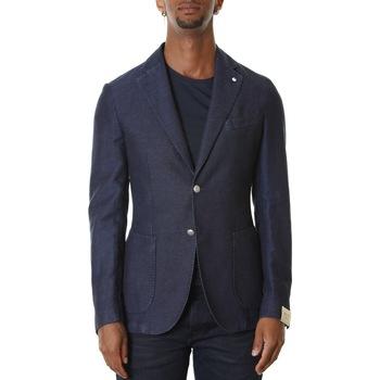 Abbigliamento Uomo Giacche / Blazer L.b.m. 1911 05812 2857 - 3 Blu Blu