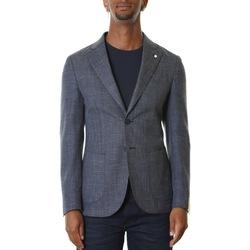 Abbigliamento Uomo Giacche / Blazer L.b.m. 1911 05818 2888 - 3 Blu Blu
