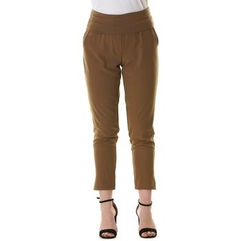 Abbigliamento Donna Chino Manila Grace 1NINA0 MD822-MILITARE Verde