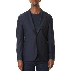 Abbigliamento Uomo Giacche / Blazer L.b.m. 1911 05746 2844 - 3 Blu Blu
