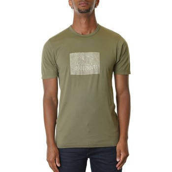 Abbigliamento Uomo T-shirt maniche corte Cp Company 08CMTS152A000444H-660 - BURNT OLIVE Verde