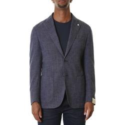 Abbigliamento Uomo Giacche / Blazer L.b.m. 1911 2887 95822 - 1 Blu Blu