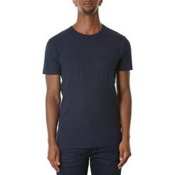 Abbigliamento Uomo T-shirt maniche corte Selected 16073457-Navy Blazer Blu