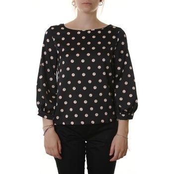 Abbigliamento Donna Top / Blusa Emme Marella 51111005000 001-NERO/ARANCIO Nero