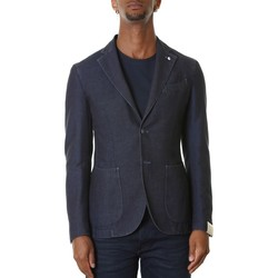 Abbigliamento Uomo Giacche / Blazer L.b.m. 1911 2857 95777 - 2 Blu Blu