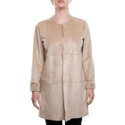 Abbigliamento Donna Cappotti Emme Marella 59010295 - 001 Sabbia Bianco