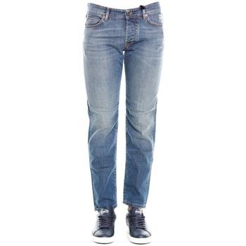 Abbigliamento Uomo Jeans dritti Roy Rogers 529 Weared 10 - Denim Blu