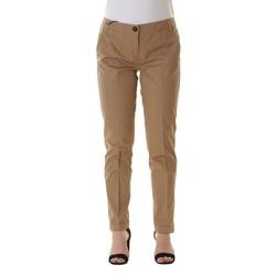 Abbigliamento Donna Chino Emme Marella 51311095 - 001 Sabbia Bianco