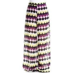 Abbigliamento Donna Pantaloni morbidi / Pantaloni alla zuava Emme Marella 51310594 - 004 Bianco Bianco