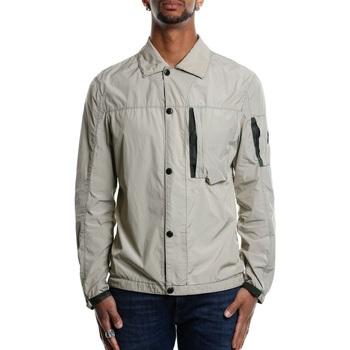 Abbigliamento Uomo Giubbotti Cp Company 06CMSH179A-005385G - 334 Silver Mink Bianco