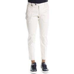 Abbigliamento Uomo Chino Michael Coal Brad 3276 - 03 Avorio Bianco