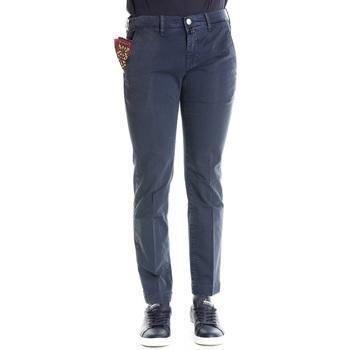 Abbigliamento Uomo Chino Jacob Cohen PW626 08165 - 866 Blu Blu