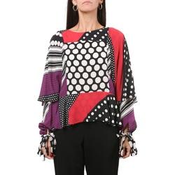 Abbigliamento Donna Top / Blusa Manila Grace C141VS-MD707 Red Patch Rosso