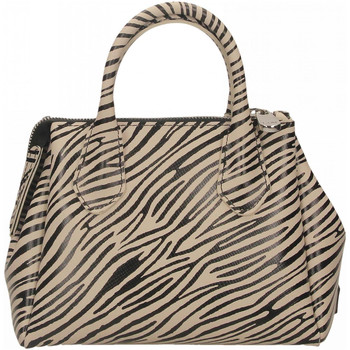 Borse Donna Borse a mano Gum RE-BUILD 11620-mini-zebra-cocco-nero
