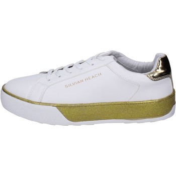 Scarpe Bambina Sneakers Silvian Heach BK492 Bianco