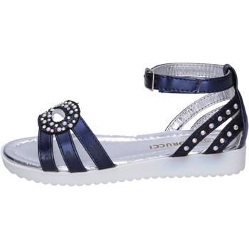 Scarpe Bambina Sandali Fiorucci BK505 Blu