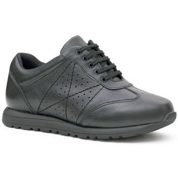 Scarpe Donna Sneakers basse Calzamedi SCARPE  SPORT BIANCO COMODI E DONNE WIDE NERO