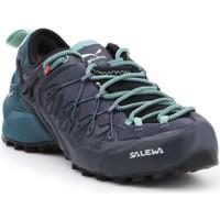 Scarpe Donna Trekking Salewa WS Wildfire Edge GTX 61376-3838 granatowy, black, green