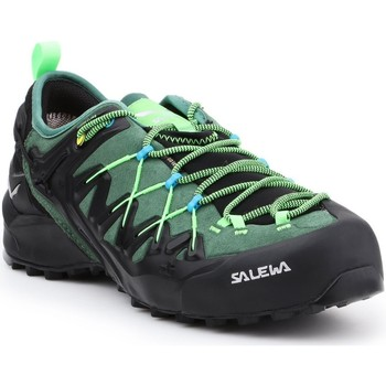 Scarpe Uomo Trekking Salewa MS Wildfire Edge GTX 61375-5949 black, green