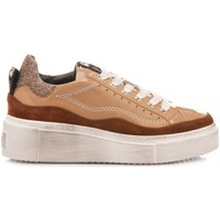 Scarpe Donna Sneakers basse Janet Sport Sneakers Stringate Donna 46605 Tabacco tabacco