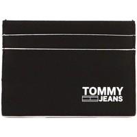 Borse Uomo Portafogli Tommy Jeans TJM CC HOLDER nero