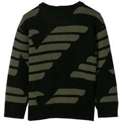 Abbigliamento Bambino Maglioni Emporio Armani MAGLIONCINO VERDE 6G4MY5-1MPYZ Nero
