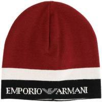 Accessori Berretti Emporio Armani CAPPELLO BIANCO NERO 404601-9A454 Rosso
