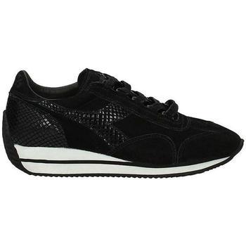Scarpe Bambina Sneakers basse Diadora SCARPA HERITAGE Nero