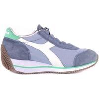 Scarpe Bambina Sneakers Diadora SCARPA HERITAGE DENIM VERDE Jeans