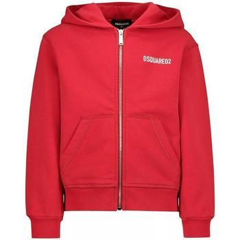 Abbigliamento Bambino Felpe Dsquared FELPA ZIP DQ02W1-D00G4 Rosso