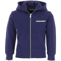 Abbigliamento Bambino Felpe Dsquared FELPA ZIP DQ02W1-D00G4 Bluette