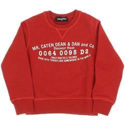 Abbigliamento Bambino Felpe Dsquared FELPA GIROCOLLO DQ02VU-D00G4 Rosso