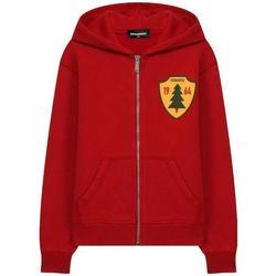 Abbigliamento Bambino Felpe Dsquared FELPA CAPPUCCIO DQ02VW-D00P6 Rosso