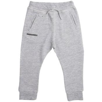 Abbigliamento Bambino Pantaloni da tuta Dsquared PANT.FELPA DQ02E1-D00P6 Grigio
