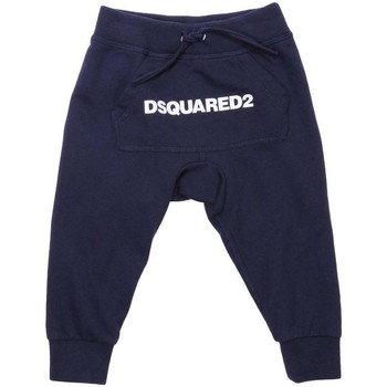 Abbigliamento Bambino Pantaloni da tuta Dsquared PANT.FELPA DQ031N-D00Q8 Blu