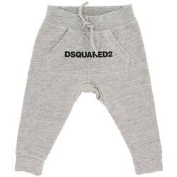 Abbigliamento Bambino Pantaloni da tuta Dsquared PANT.FELPA DQ031N-D00Q8 Grigio