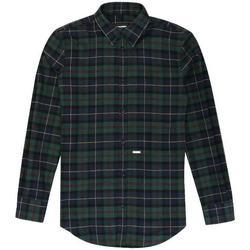 Abbigliamento Bambino Camicie maniche lunghe Dsquared CAMICIA BLU DQ02EE-D00P3 Verde