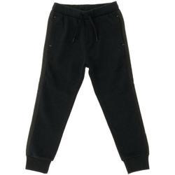 Abbigliamento Bambino Pantaloni da tuta Kenzo PANT. FELPA KM23568 Nero
