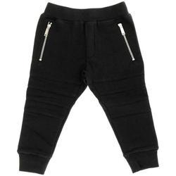 Abbigliamento Bambino Pantaloni da tuta Dsquared PANT.FELPA DQ02WP-D00G4 Nero