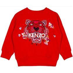 Abbigliamento Bambina Felpe Kenzo FELPA GIROCOLLO Rosso