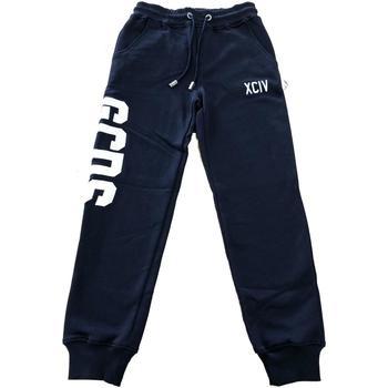 Abbigliamento Bambino Pantaloni da tuta Gcds PANT.FELPA Blu