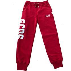 Abbigliamento Bambino Pantaloni da tuta Gcds PANT.FELPA Rosso