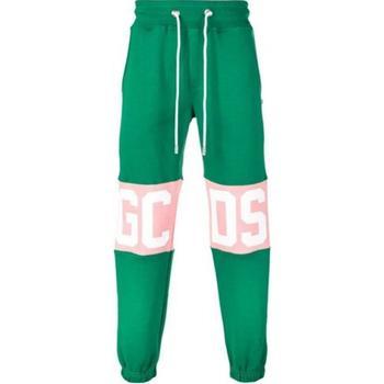 Abbigliamento Bambino Pantaloni da tuta Gcds PANT.FELPA Verde